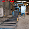 hot sale Q 69 series roller conveyor shot blasting machine manufacturer
