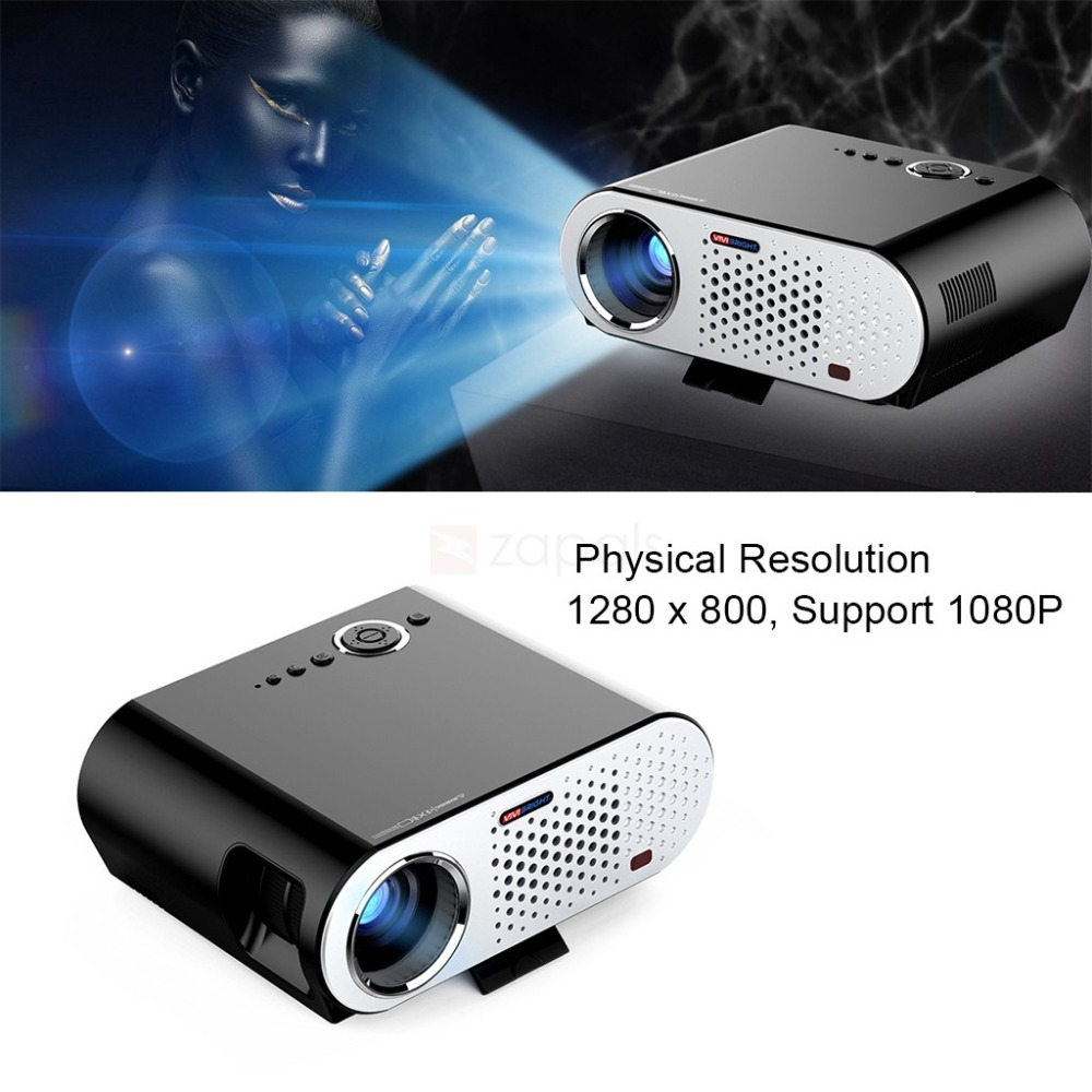 GP90UP Android Home Theater Smart TV Box WiFi Bluetooth Multimedia HDMI HD LED Projector
