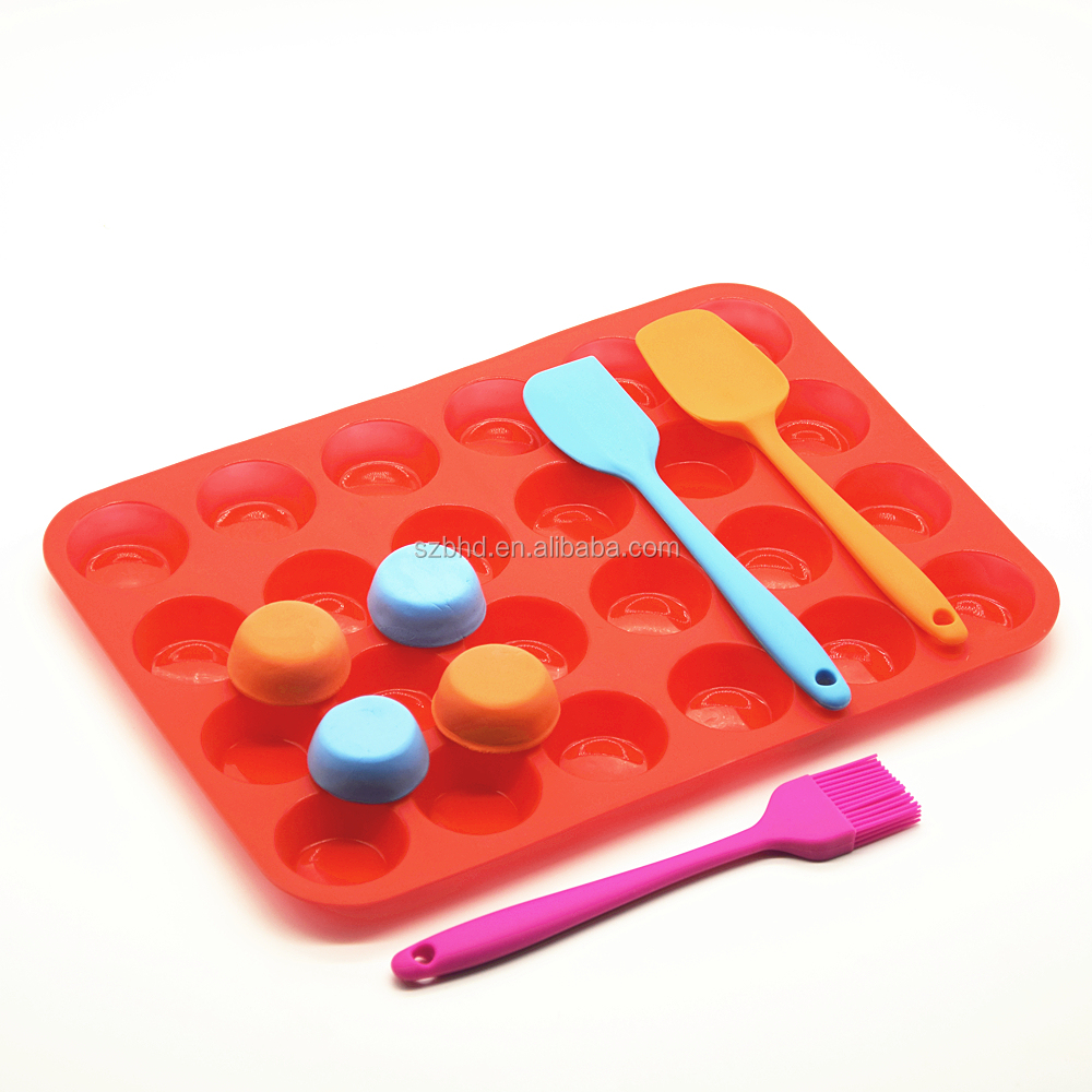Silicone Muffin Pan,Cupcake Maker and silicone muffin top pan for baking