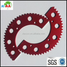 Red racing go kart gear sprocket chain sprocket gear