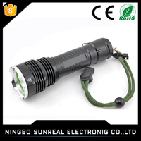 Rechargeable 18650 Lithium Battery T6 Bulb 1200 lm Strong Light LED Tactical Waterproof 100m Flashlight