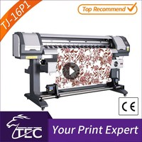 cheap 1.6m 1 pc pc3200 head sublimation sports shirt lace printing machine