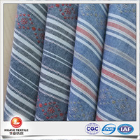 yarn dyed cotton jacquard oxford cloth fabric