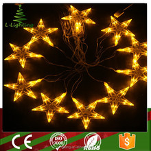 3D LED star motif light