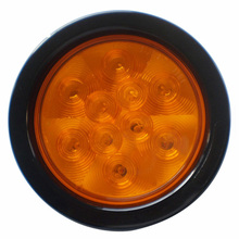 Amber 4 inch led stop tail turn signal light