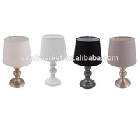Wholesale Small Two Balls Metal Base Baby Table Lamp
