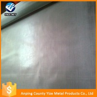 high quality 304 , 316 , 316L 6m ultra wide stainless steel wire mesh metallic fabric