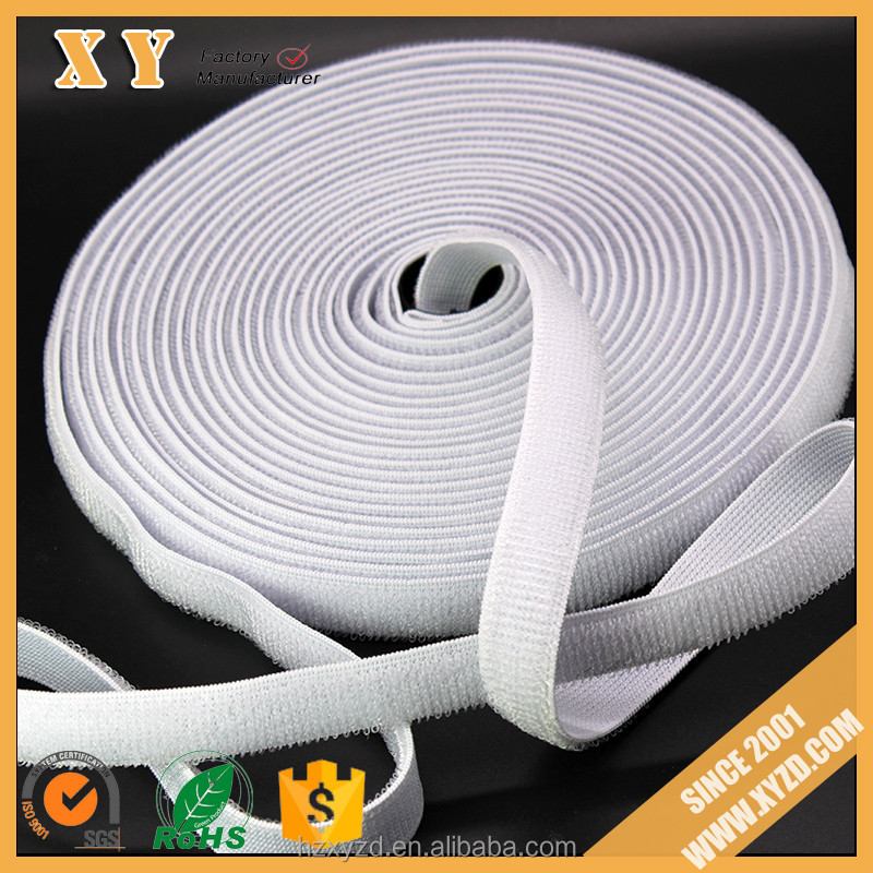 elastic hook and loop band rubber band loop good quality