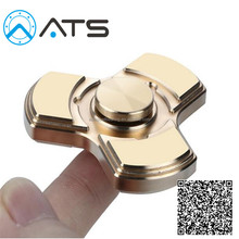 Customize anti-stress Brass Spinner 5mins hand tri-spiner toy