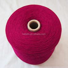 China knitted yarns importers factory direct sale spray 2/52 100% acrylic yarn color dye for hand knitting with low acrylic yarn