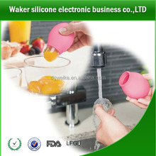 innovative products for the kitchen egg yolk DIY filter squeeze divider healthy suction separator tool silicone