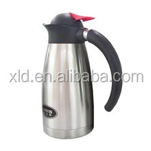 stainless steel color hot air pot office coffee stand