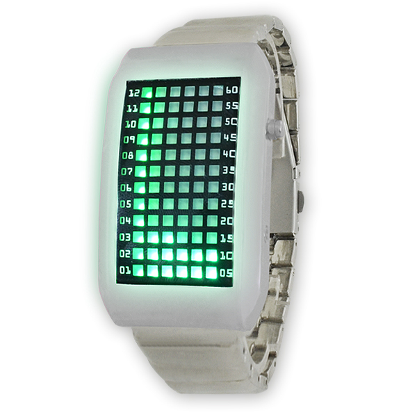 freeshipping new arrival pimp Zero Kelvin Japanese 72 Blue/RED LED man Watch