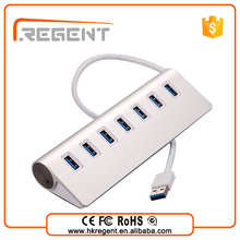 Wholesale Custom usb 3.0 portable aluminum hub with multifunctional card reader