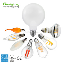Newest Design E27 E26 E14 E17 B11 B22 base type A60 ST64 C35 G G125 DIY 2W 4W 6W 8W Dimmable light edison LED Filament bulb