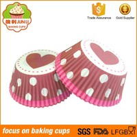 Customized Kinds Design Colorful Baking Cases Paper Cake Cup