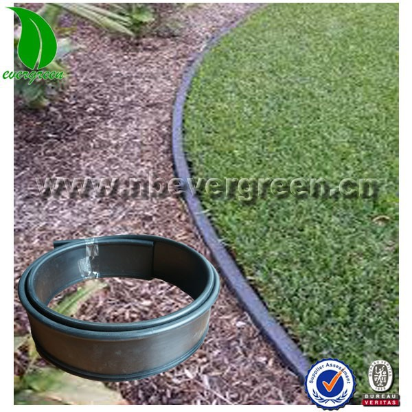 Plastic garden grass lawn edge flexible edging