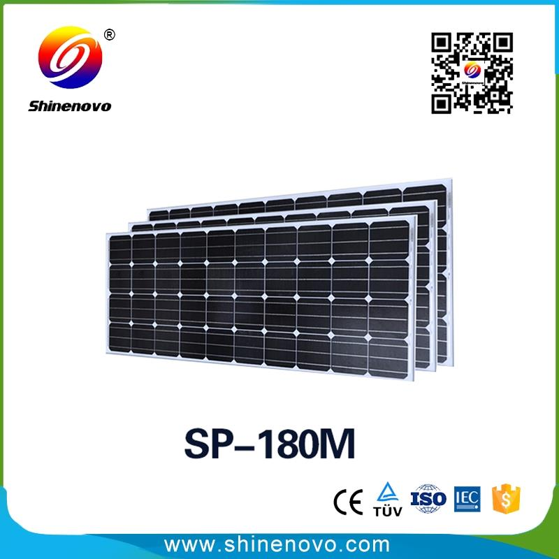 China factory supplier 180w PV cell solar panel