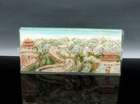 cheap resin chinese great wall craft and art