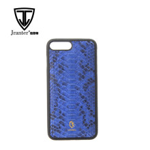 Genuine Python Snakeskin Leather Cell Phone Case for i Phone 7 plus