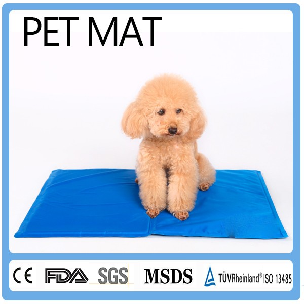 Pet Dog Self Cooling Gel Mat for Kennels, Crates and Beds
