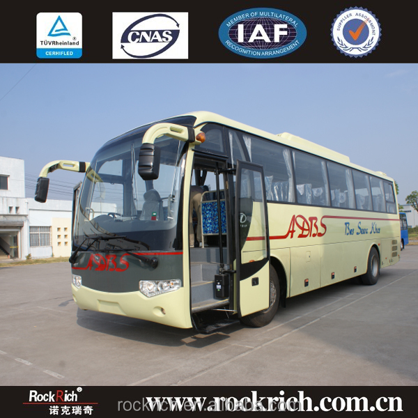 High Quality Luxury 45 Seater RHD Price Of New Coach Bus Color Design