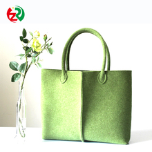 Alibaba new arrival travel beach bag polyester walking felt shoulder bag for ladies