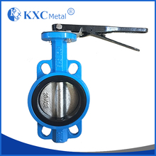 ISO5211 Wafer butterfly valve PN10/16 With handle lever
