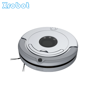 Round artificial intelligence robot vaccum cleaner for home