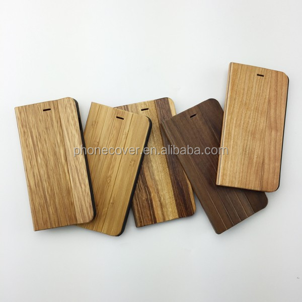 hot chinese products phone wood flip cases for galaxy