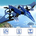 innovative toys cool appearance 4-axis drone radio control aircraft with led lights