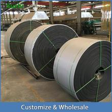 rubber conveyor belt used for wharf,steel plant,mining,grain,sand, gravel,recycling,stone crusher