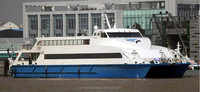 400 Passenger Aluminum Catamaran High Speed Ferry Passenger Boat