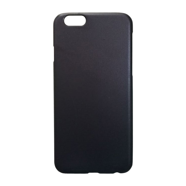 Black Matte Rubberized Hard Back Shell Case for iphone 6/6s,for iphone matte black case