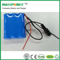 China high capacity 18650 li-ion rechargeable battery