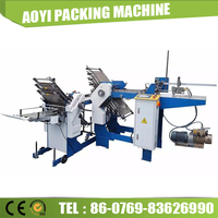 Continuous Booklet Paper Sheet Folding Machinery