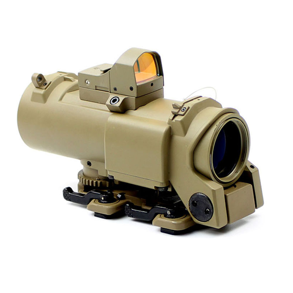 1x 4x air rifle Optics Prism Scope