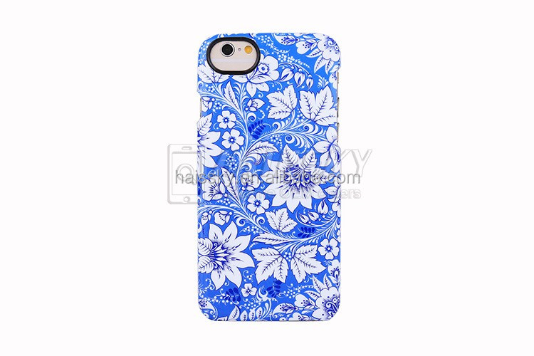 OEM Creative Design Flowers Pattern phone case /Wholesale Flower Pattern IMD case for iPhone 6 /6 plus