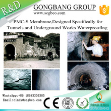 New Premium Fire Rated Waterproof Membrane Polyurea Coating Prices For Tunnel Metro Underground Passage Dam