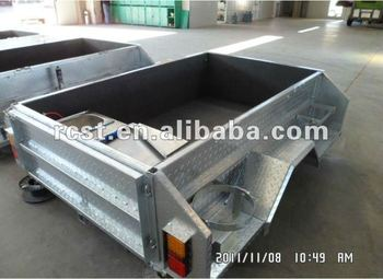 HOT DIPPED GALVANIZED steel folding camper trailer