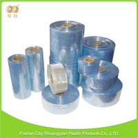 New product factory direct sales bottled beverage anti-puncture calendered pvc shrink film