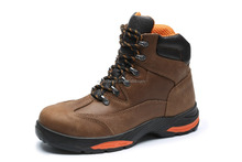 Hot selling high quality oil leather men safety shoes, industrial safety shoes with steel toecap and steel plate