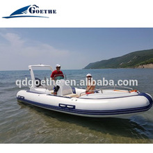 RIB580c Goethe Fiberglass Hull and Center Console military inflatable boat