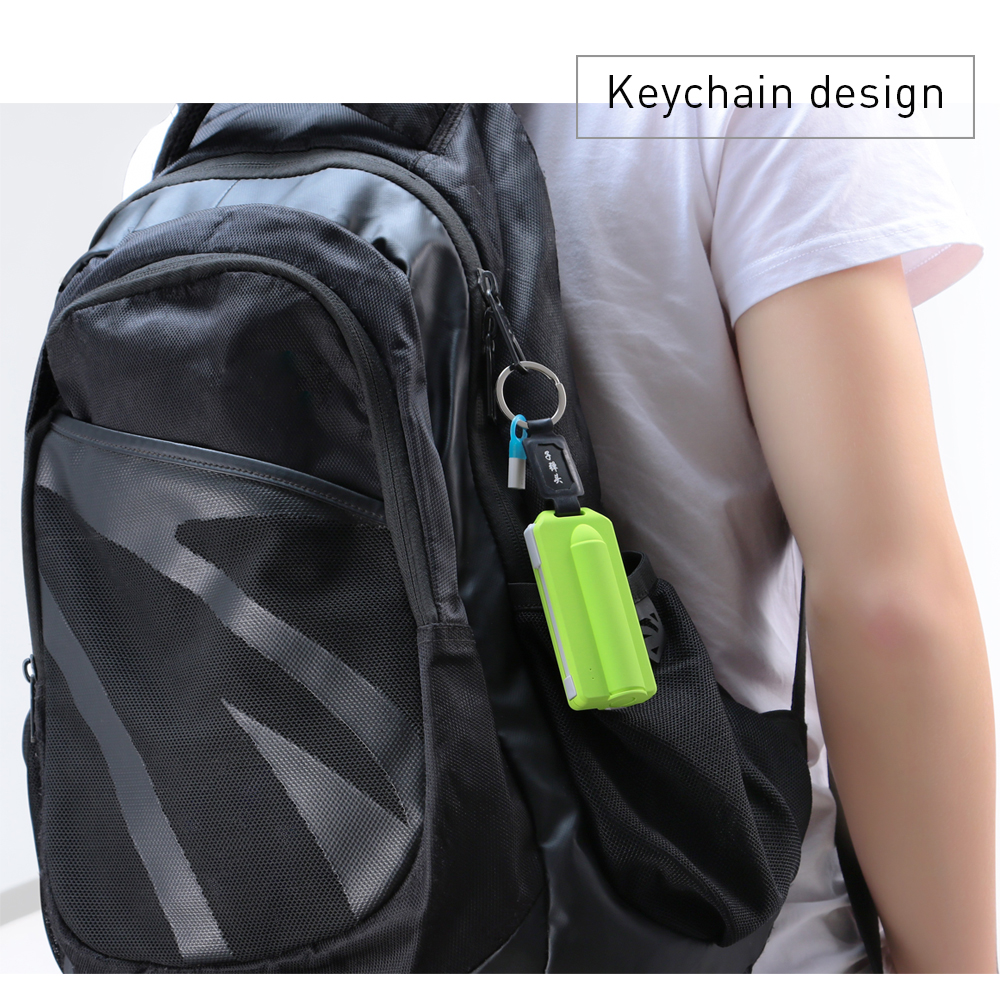 Amazon best selling Keychain power bank phone charger for mobile phone