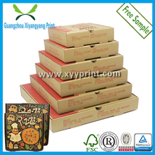Cheaper Hand-Made Recycle E- Flute Paper Corrugated Pizza Boxes manufacturer, Carton pizza delivery box for scooter
