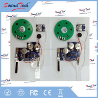 Logic ICs Type recordable sound chip for greeting card
