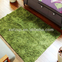 100% polyester shaggy bed side rugs