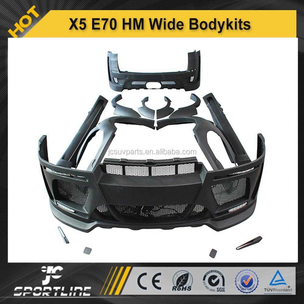 2007 2013 imprimaci n negro fibra de vidrio x5 cuerpo kit para bmw x5 e70 cuerpo kit hm estilo versi n amplia buy product on alibaba com