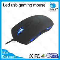LED gaming mouse with adjustable DPI optical gaming mouse