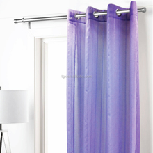 New Design Engineering Yarn 100% Polyester Shower Curtain Striped Curtains